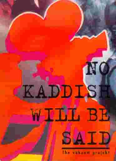 No Kaddish - Flyer